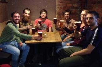 A final Manchester beer in Sandbar
